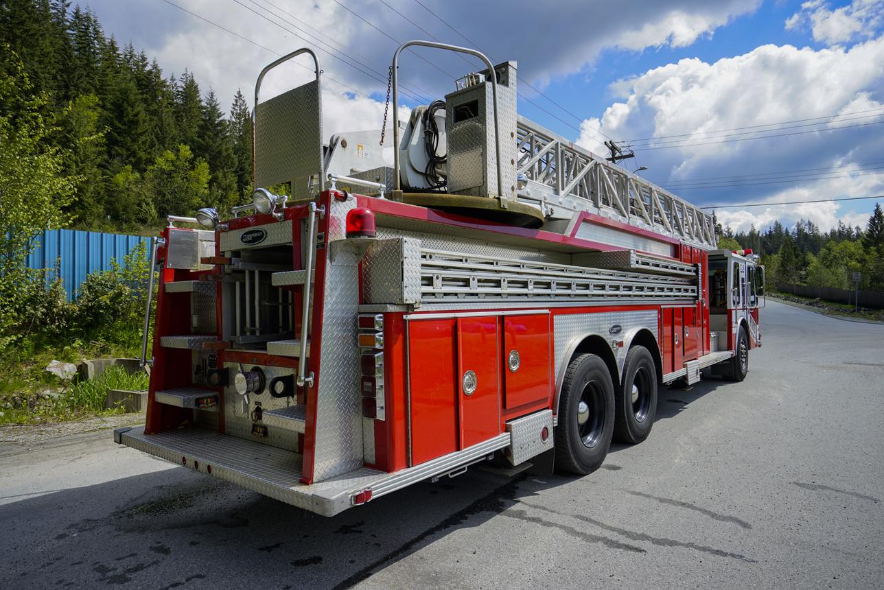 1985 Ladder Fire Truck  7472  U2013 Picture Cars West